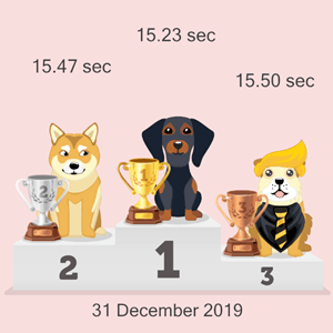Litecoin canine racing results