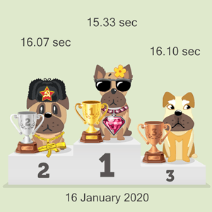 crypto canine racing results